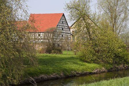 Timbered House Banco de Imagens