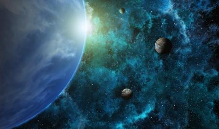 planetarnych: Układ planetarny