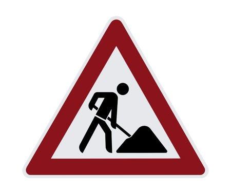 coined: Construction Sign