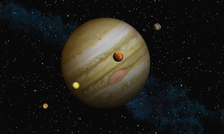 io: Jupiter with her Moons