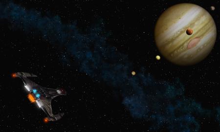 jupiter: Fly to Jupiter
