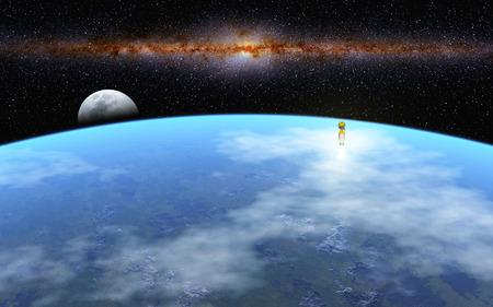 moonrise: Departure to Moon