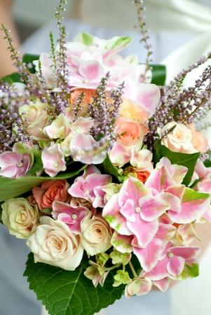 wedding bouquet of wildflowers