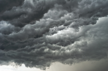 Background of storm clouds before a thunder-storm Stock Photo - 14398676