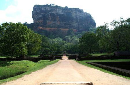 8th Wonder of the world - Sigiriya Stock Photo