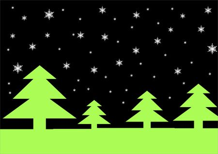 lonesome: Christmas trees and snow flakes back ground!