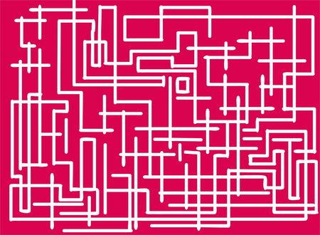 very difficult maze Stock Photo - 331991