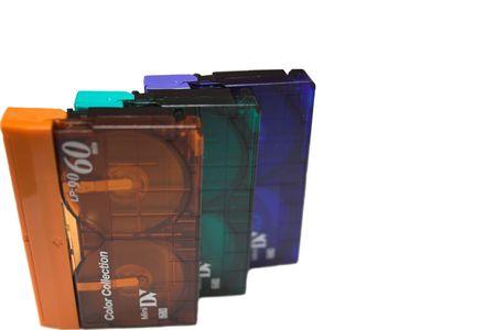 vhs videotape: DV Cassette