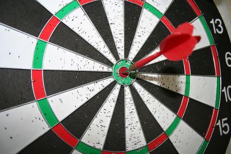 Dart - Bulls Eye Isolated