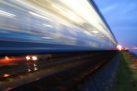 Train on the move - Fast