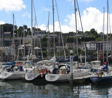 Boats at Harbor photo