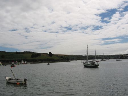 Boats at the harbour photo