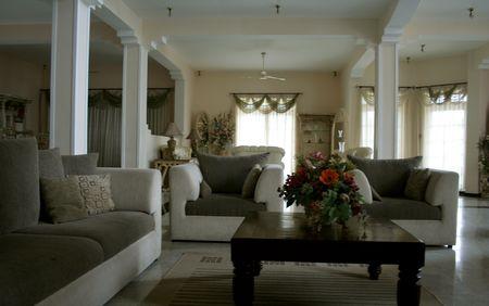 Interior - Living Room Stock Photo
