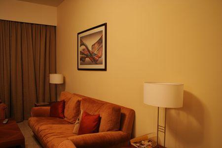 common room: Interior - Living Room Stock Photo