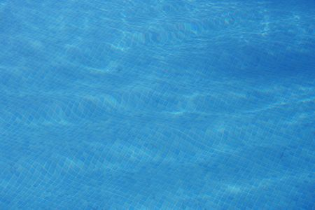 Blue swimming pool water background Stock Photo - 803188