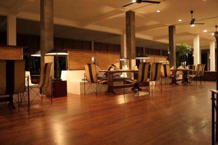 Interiores - hotel (bar / restaurante)  Foto de archivo - 808741