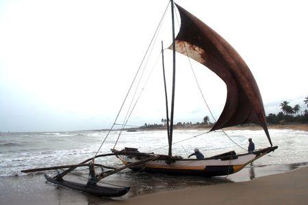 srilanka: Fishing Boat