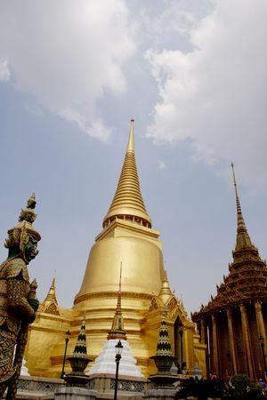 Royal Palace (Wat Phra Keo). Bangkok. Thailand Stock Photo