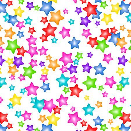 Sweet confetti seamless pattern Ilustração