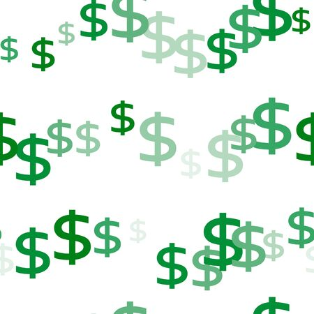 Seamless dollar money currency symbol background Imagens - 126170769