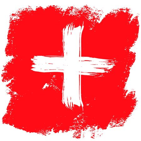 Swiss National Day design card