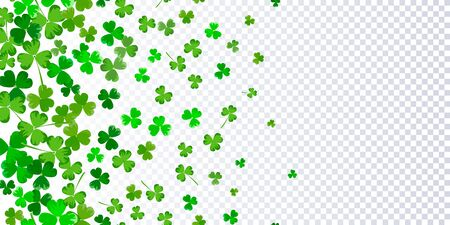 St.Patricks day horizontal seamless background