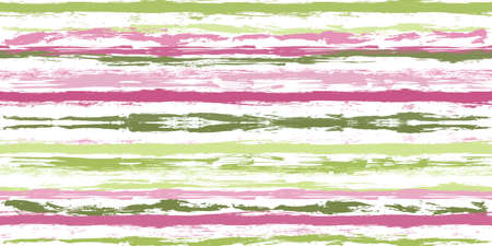 Watercolor strips seamless vector background Çizim