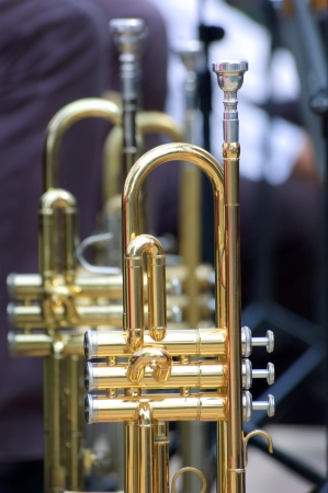 Trompet achtergrond