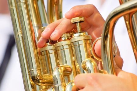 Tuba theme Stock Photo