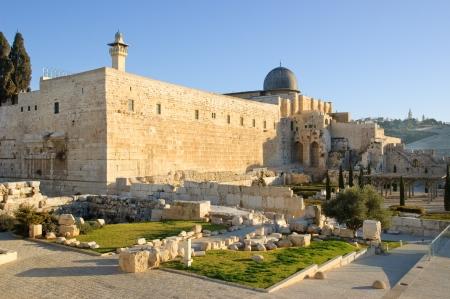 Moskee van Omar achteraanzicht