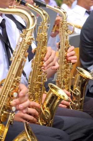 Saxofoon achtergrond