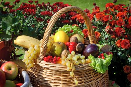 Close-up bekijken van de dankzegging decoratie Stockfoto
