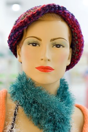 Mannequin at shopping mall Stock Photo - 400491