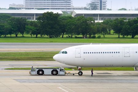 Plane in asian airport Stock Photo - 400490