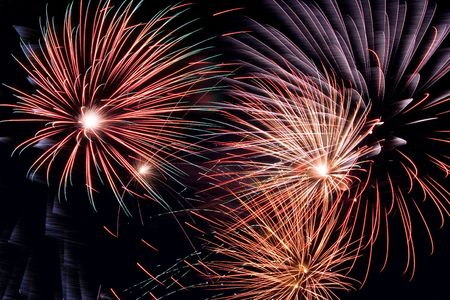 Different fireworks - celebrating Stock Photo - 435047