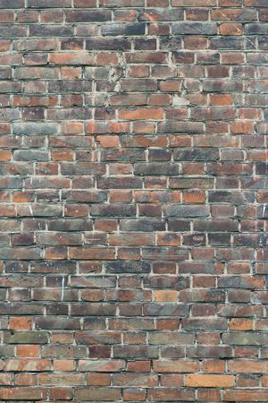Old brick wall backdrop Stock Photo