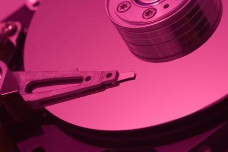 Macro of hard disc drive Stock Photo - 557537