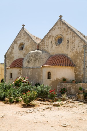 arkadia: A photo of Arkadia monastery in Crete, Greece