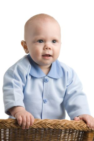A photo of a baby boy, one year old Stock Photo - 3147143