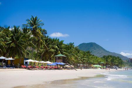 Photo of a beach, Venezuela, Margarita island