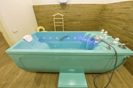 Medical room with spa bath for relaxation and rehabilitation spa treatments