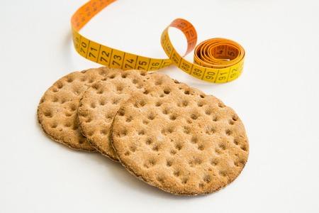 crispbread: Close up di fette biscottate