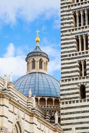 siena: Siena Cathedral, Duomo di Siena, Italy Stock Photo