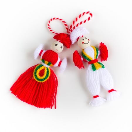 Bulgarian Martenitsa Standard-Bild