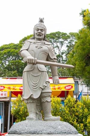 generals: One of 12 divine generals of Bhaisajyaguru Buddha in Po Lin Monastery, Hong Kong