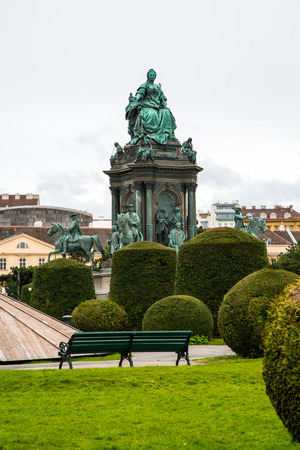 empress: Statue depicting Empress Maria Theresa in Vienna