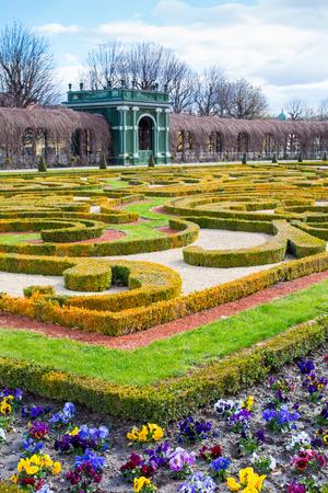 schloss schonbrunn: Garden architecture detail at Schonbrunn Palace, Vienna, Editorial