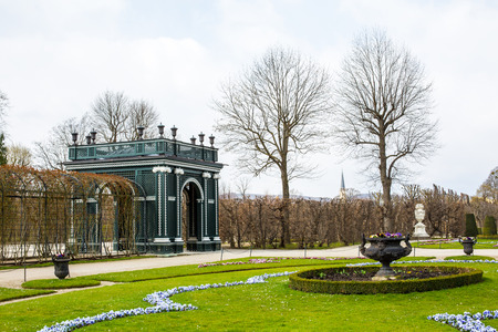 schloss schoenbrunn: Garden architecture detail at Schonbrunn Palace, Vienna, Editorial