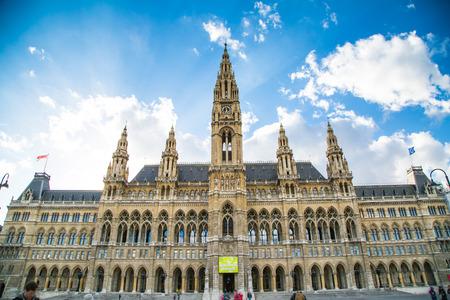 Vienna City Hall,  Wiener Rathaus, Austria