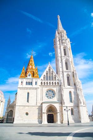 matthias: Gothic St. Matthias Church in Budapest Hungary